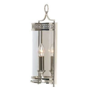GUILDHALL polished nickel GH/WB PN Elstead Lighting